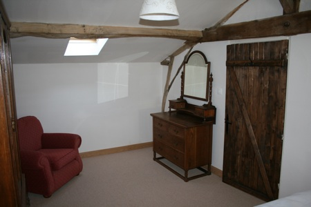 Orchard Cottage oak bedroom